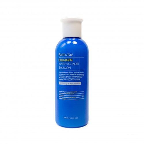 Антивозрастная увлажняющая эмульсия с коллагеном Farmstay Collagen Water Full Moist Emulsion moist