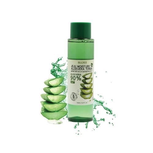 Увлажняющий тоник с алоэ Blumei Jeju Moisture Aloe 90% Toner увлажняющий крем с алоэ blumei jeju moiture aloe vera cream