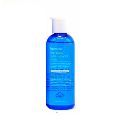 Антивозрастной увлажняющий тонер с коллагеном Farmstay Collagen Water Full Moist Toner цена