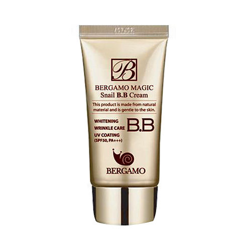 Многофункциональный BB крем с муцином улитки Bergamo Magic Snail BB Cream mizon black snail all in one cream 75ml repair cream deep moisturizing anti wrinkle remover acne snail face cream korea cosmetic