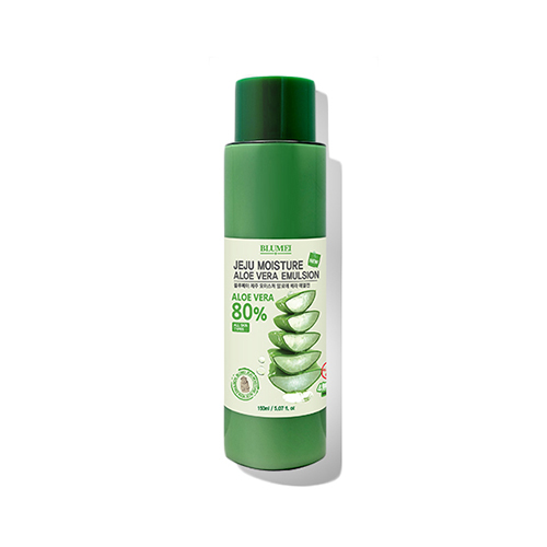 Эмульсия с экстрактом алоэ Blumei Jeju Moisture Aloe 80% Emulsion эмульсия elizavecca milky wear moisture whitening emulsion 200 мл