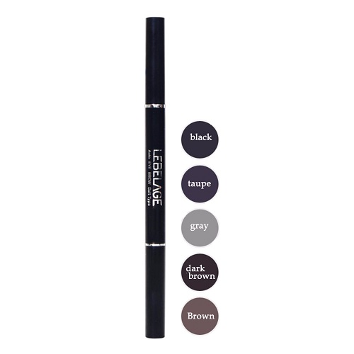 Карандаш Lebelage Auto Eye Brow Soft Type Black 50 pcs pack one off eye brow groomer brushes