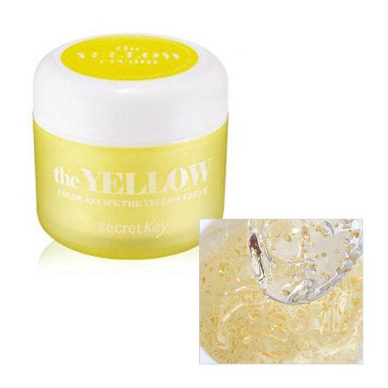 Увлажняющий крем-гель Secret Key Color Recipe The Yellow Cream