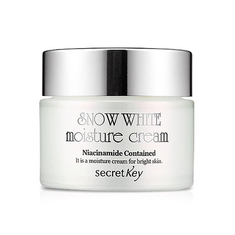 Осветляющий крем для лица Secret Key Snow White Moisture Cream крем secret key snow white moisture cream 50 мл