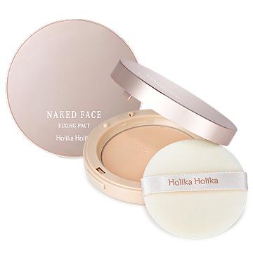 Многофункциональная пудра Holika Holika Naked Face Fixing Pact