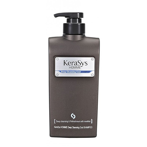Освежающий шампунь для мужчин Kerasys Homme Deep Cleansing Cool Shampoo pilaten blackhead acne remover face mask deep cleansing