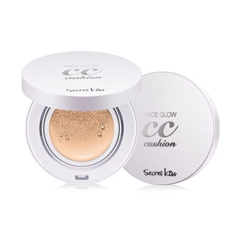 СС крем-пудра Secret Key Face Glow CC Cushion