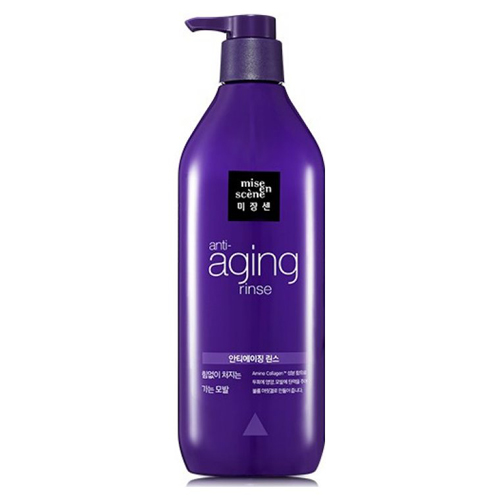 Кондиционер для волос с антивозрастным действием Mise En Scene Aging Care Rinse