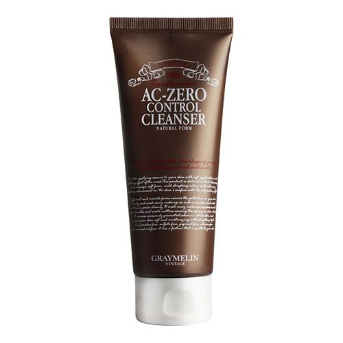 Пенка для проблемной кожи Graymelin AC Zero Control Cleanser Natural Foam скрабы graymelin мягкий скраб с сахаром и рисом