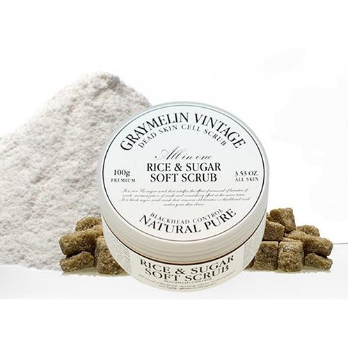 Скраб для очищения кожи Graymelin Rice and Sugar Soft Scrub