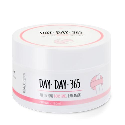 Обновляющие диски для лица Wish Formula Day 365 All In One Boosting Pad Mask one day