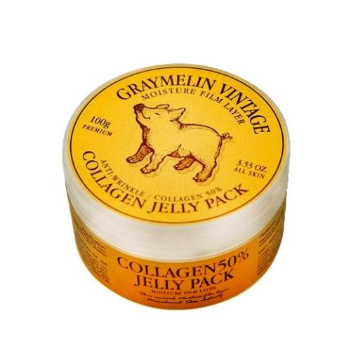 Коллагеновая маска Graymelin Collagen Jelly Pack нolika holika ночная маска для лица pig collagen jelly pack 80 г