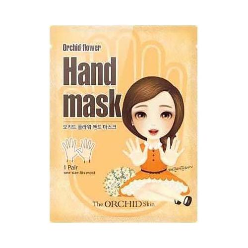 Тканевая маска-перчатки для рук The Orchid Skin The Orchid Skin Hand Mask Sheet удобный карандаш для бровей 3 в 1 the orchid skin the orchid skin 3 in 1 eyebrow