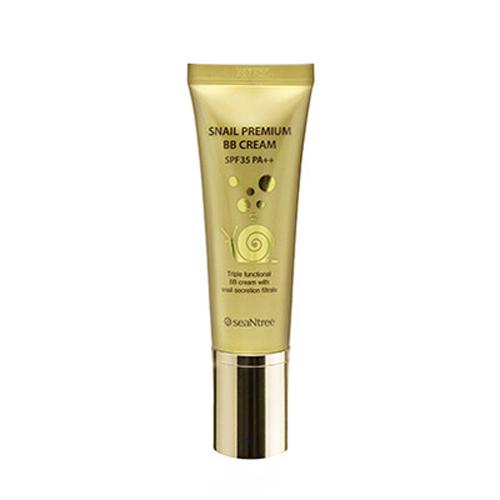 BB крем для лица SeaNtree Snail Premium BB Cream крем premium аква крем snail hand cream 50 мл