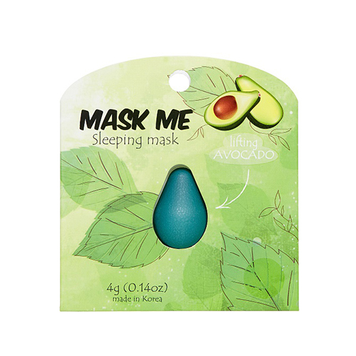 Ночная подтягивающая маска Beauty Bar Mask Me Sleeping Mask Lifting Avocado pomegranate sleeping mask sans rincage moisturizing whitening brightening nourishing replenishment beauty salon 1000g