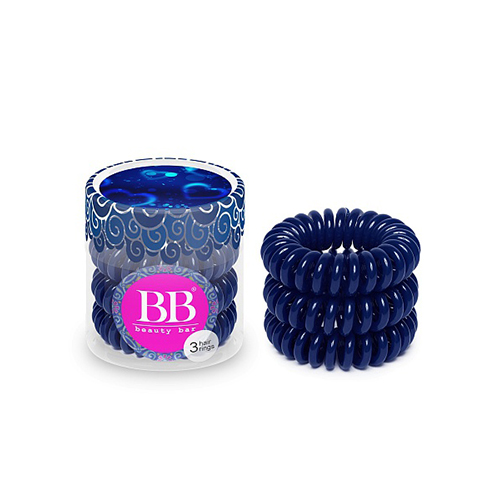 Резинки для волос темно-синие Beauty Bar Beauty Bar Hair Band Dark Blue beauty bar beauty bar hair band watercolor