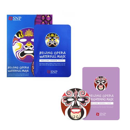 цены Тканевая маска Пекинская опера SNP Beijing Opera Mask