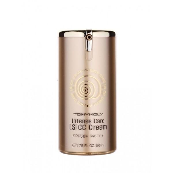 CC крем с улиточным муцином Tony Moly Intense Care LS CC Cream