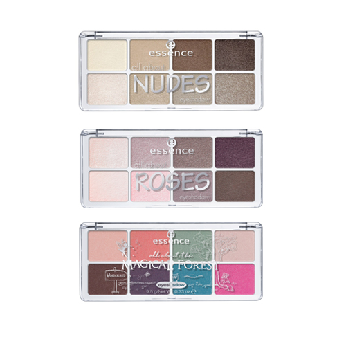 Палетки теней Essence All About Eyeshadow Palettes для глаз essence all about … eyeshadow palettes 03 цвет 03 roses variant hex name ce9d6d