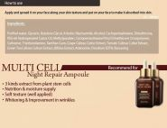 Multi Cell Night Repair Ampoule