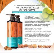 Silk Hair Argan Intense Care Shampoo description