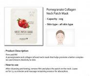 Pomegranate Collagen Neck Patch Mask