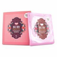 Koelf Ruby and Bulgarian Rose Hydro Gel Mask Pack
