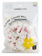 Clean and Beauty Flower Shower Ball description