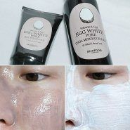 Volcanic and Egg White Pore Cool Meringue Pack SKINFOOD купить