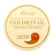 Gold and Snail Hydrogel Eye Patch