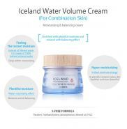 Iceland Hydrating Water Volume Cream description