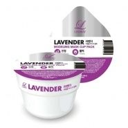 Disposable Modeling Mask Cup Pack Lavender