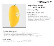 Magic Food Mango Mild Sun Block Tony Moly отзывы