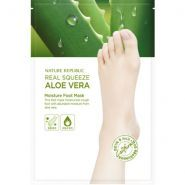Real Squeeze Aloe Vera Moisture Foot Mask