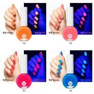 Aqua Petit Jelly Neon Beam Nail Polish купить