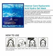 Intense Care Hyaluronic Acid Hydrogel Mask description