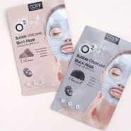 O2 Bubble Black Mask