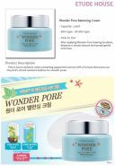 Wonder Pore Balancing Cream Etude House