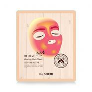 Believe Me Heating Mask Sheet The Saem купить