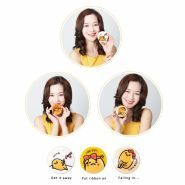 Gudetama Lazy And Easy Face 2 Change Photo Ready Cushion BB Set B