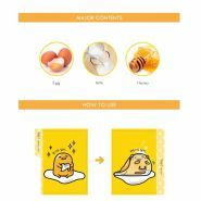 Gudetama Lazy And Easy All Kill Mask Sheet Holika Holika