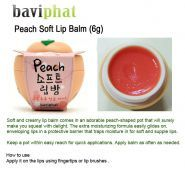 Peach Soft Lip Balm