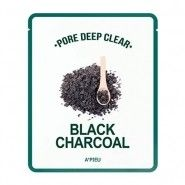 Pore Deep Clear Black Charcoal Mask